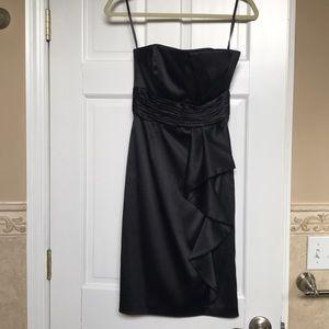 White House Black Market Black Strapless Dress 00